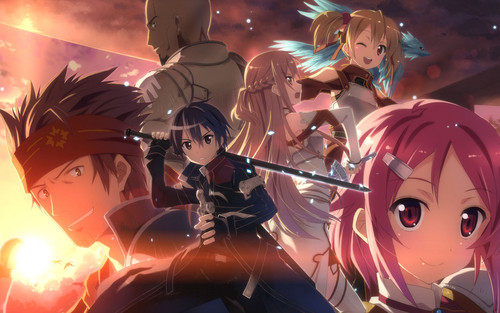 sword art online fondo de pantalla called sao