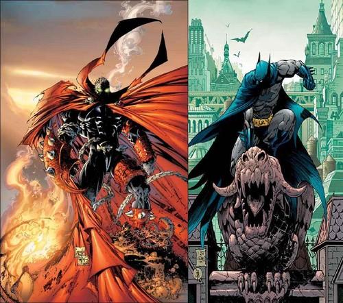 spawn vs バットマン
