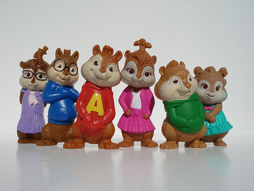 the chipmucks and chipettes toys