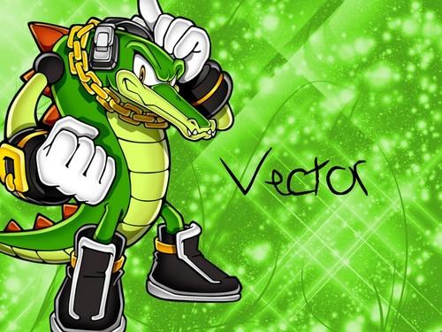 vector the krokodil achtergrond