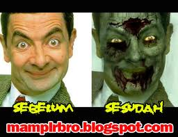 Zombies wallpaper probably with a portrait and anime called zombie mr.bean