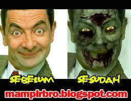 zombie mr.bean