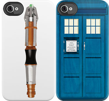 'Doctor Who' iPhone cases!