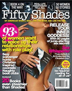 Fifty Shades Trilogy karatasi la kupamba ukuta containing anime entitled 'Fifty Shades of Grey' the Magazine