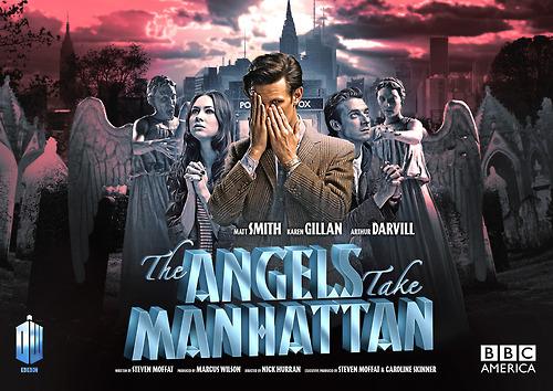 'The দেবদূত Take Manhattan' Movie Poster!
