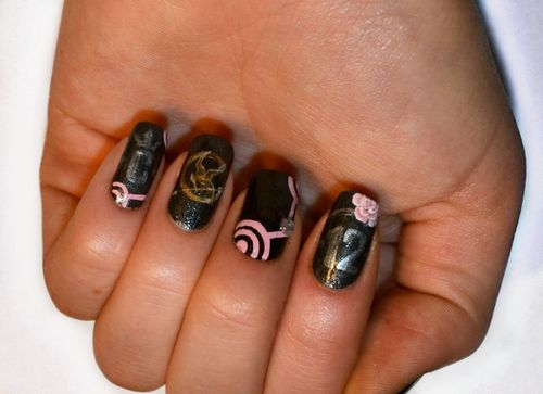 The Hunger Games Images The Hunger Games Nail Art 3 Wallpaper And