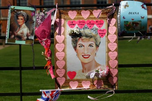 15th anniversary of Princess Diana's death