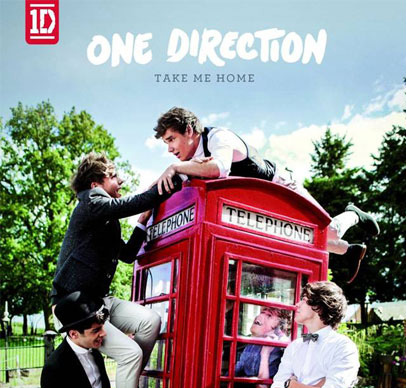 1D 'Take Me Home' lbum cover