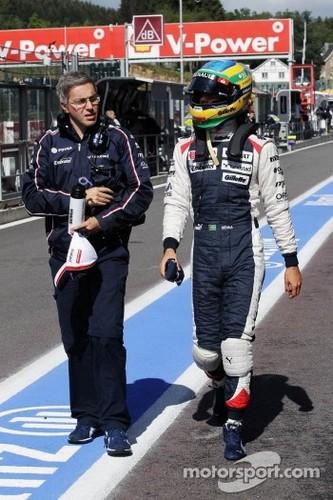 2012 Belgium GP Qualifying