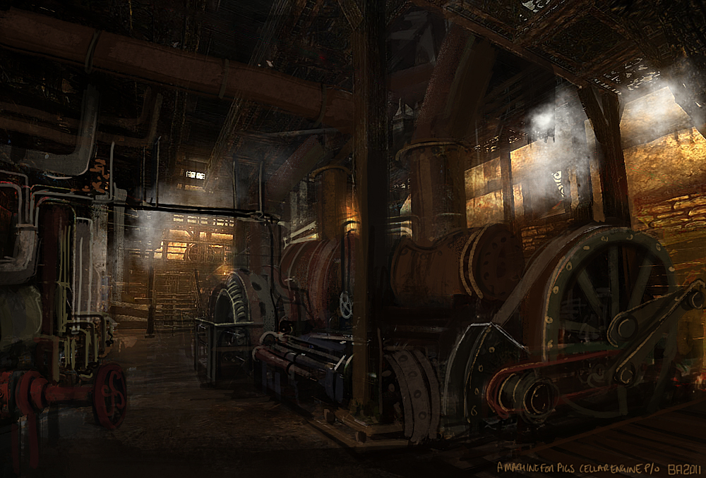 Amnesia A Machine For Pigs Images Amfp Hd Wallpaper And