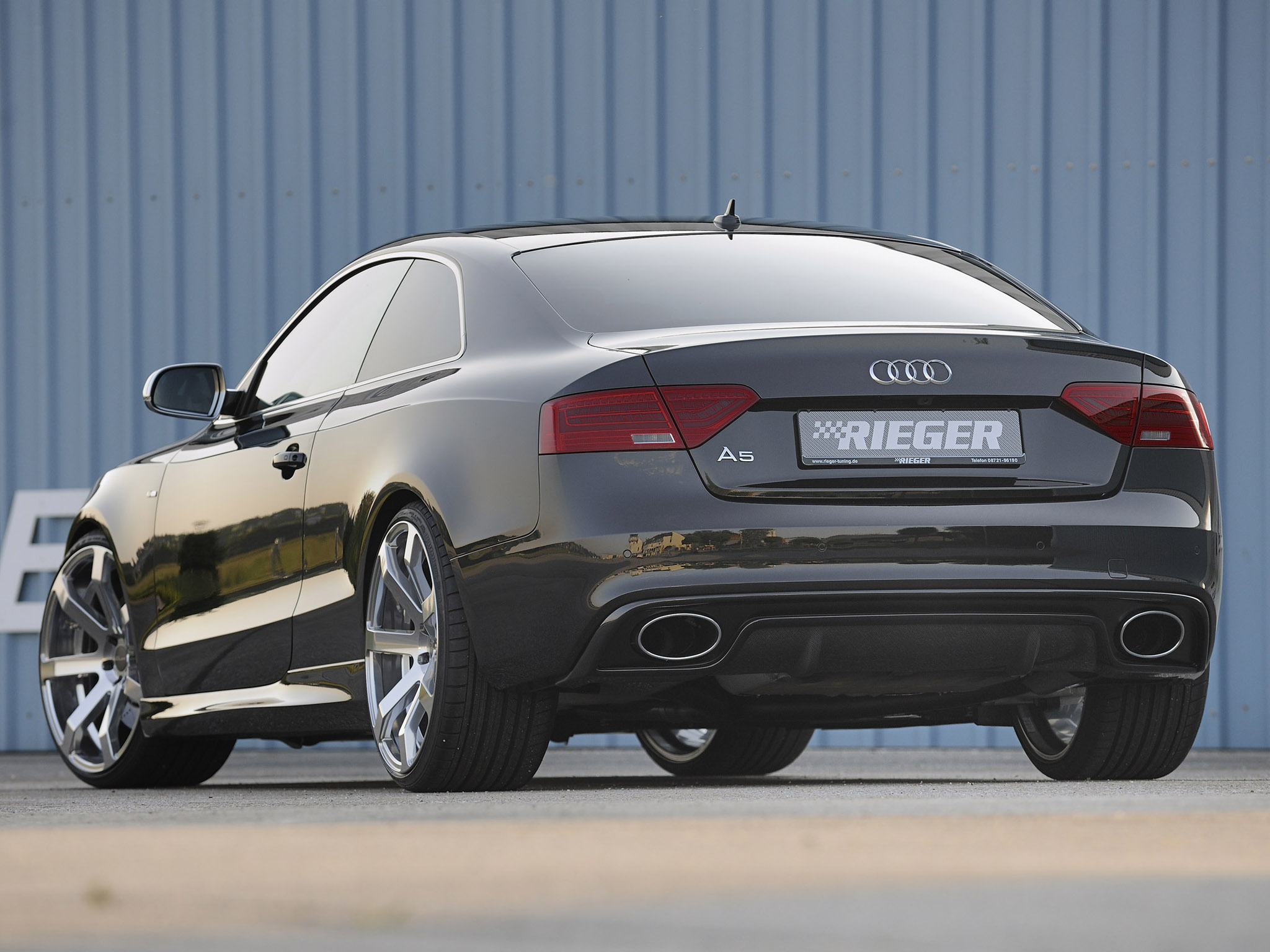 Audi Images Audi A5 By Rieger Hd Wallpaper And Background