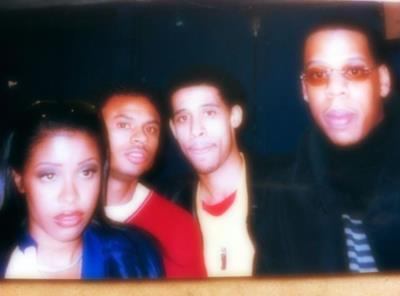 Aaliyah, Rashad, Jay-Z *RARE*