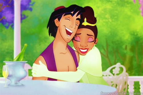 Aladdin/Tiana