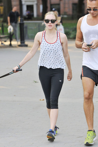 Amanda Seyfried in the East Village of NYC [August 30, 2012]