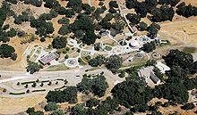 An Aerial View Of Neverland Amusement Park