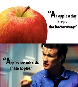 Apples are Rubbish