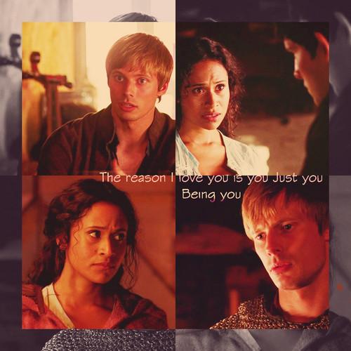Arthur and Gwen: cinta