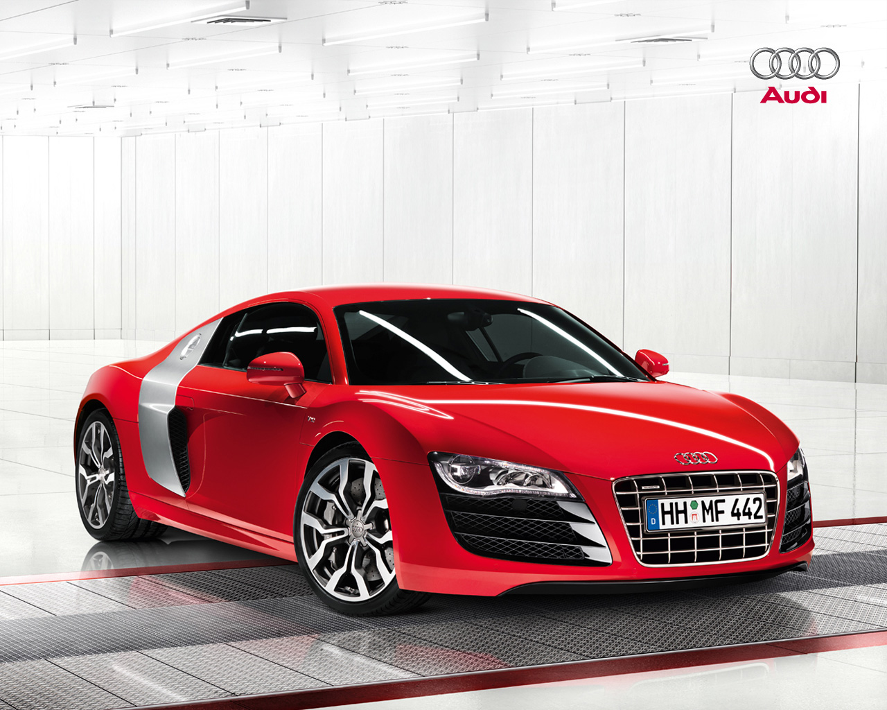 audi r8 5 2 audi wallpaper 32025757 fanpop. Black Bedroom Furniture Sets. Home Design Ideas
