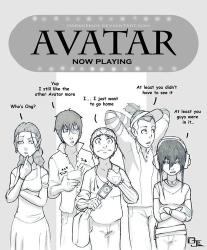 Avatar The Last Airbender karatasi la kupamba ukuta containing anime titled Avatar Movie reaction