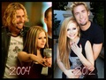 Avril & Chad  - avril-lavigne fan art