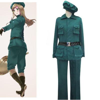 Axis Powers Hetalia Hungary Halloween Cosplay Costume