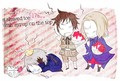 Bad Friends Brain Freeze  - hetalia photo