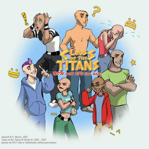 Bald Class of The Titans