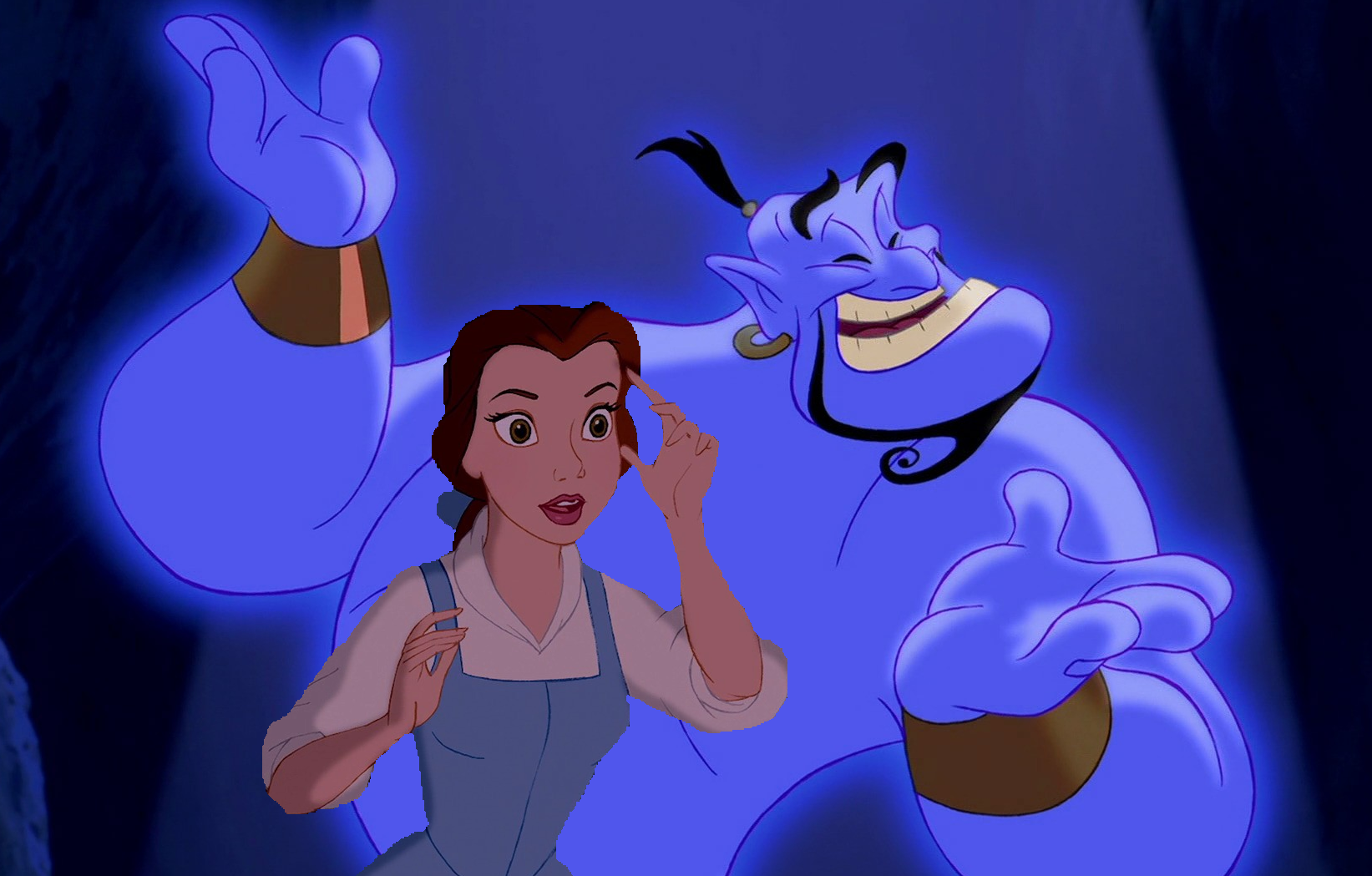 Belle meets the Genie