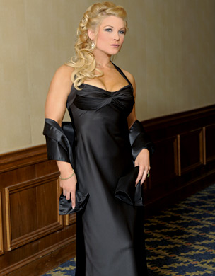 beth phoenix wallpaper possibly containing a dinner dress, a business suit, and a gown entitled Beth Phoenix Photoshoot Flashback