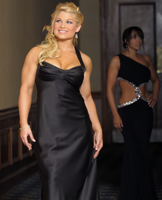 beth phoenix wallpaper containing a dinner dress entitled Beth Phoenix Photoshoot Flashback