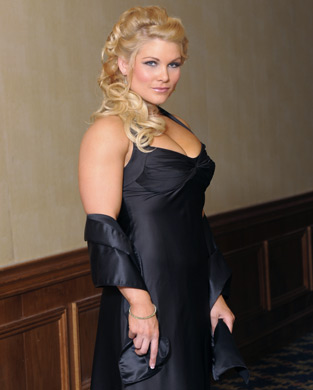 beth phoenix wallpaper possibly containing a cocktail dress called Beth Phoenix Photoshoot Flashback