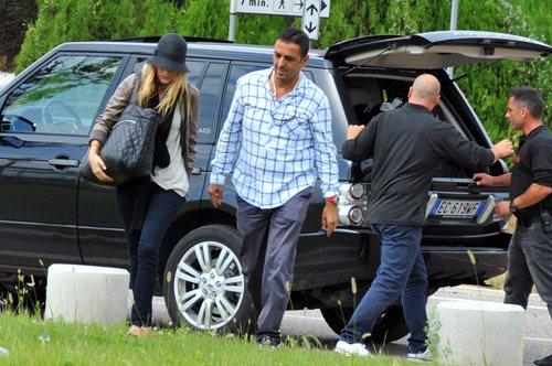 Blake arriving in Venice (August 31)