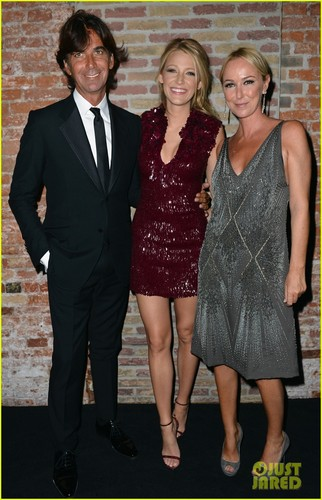 Blake @ the Gucci Premiere Fragrance Launch at Hotel Cipriani on Saturday (September 1) in Venice