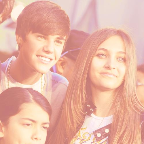 Blanket Jackson, Justin Bieber and Paris Jackson ♥♥