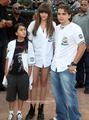 Blanket Jackson, Paris Jackson and Prince Jackson in Gary, Indiana  - blanket-jackson photo