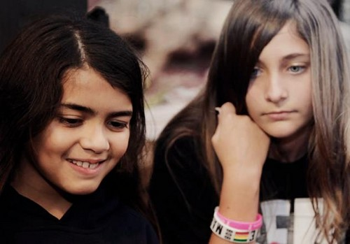Blanket Jackson and his sister Paris Jackson ♥♥