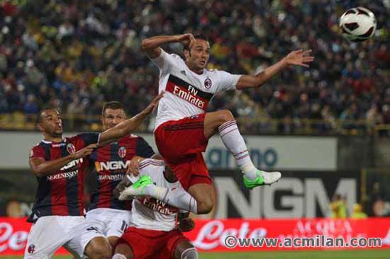 Bologna VS AC Milan 1-3, Serie A TIM 2012/13 - AC Milan ...