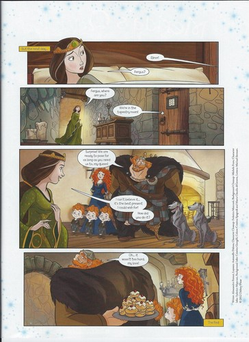 Merida - Legende der Highlands Comic