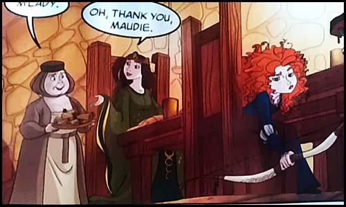 Merida - Legende der Highlands Comic