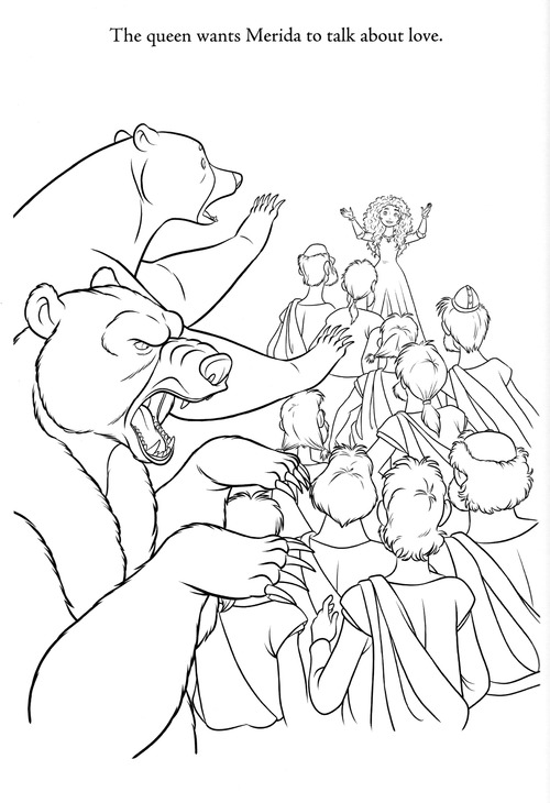 Rebelle New Coloring Pages