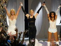 Britney , Madonna &amp; Christina - madonna wallpaper