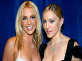 Britney &amp; Madonna - madonna wallpaper