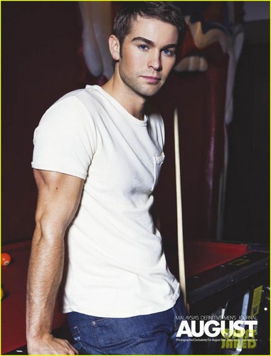 CHACE CRAWFORD in August's Men September 2012 issue!!