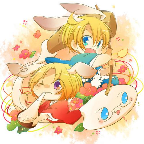 Bunnies and Mochi