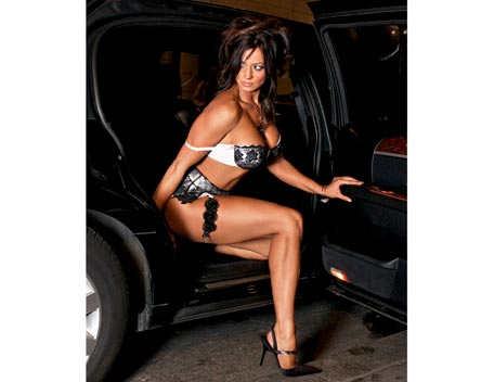 Candice Michelle 壁纸 possibly containing a bikini, a lingerie, and a 泳装, 游泳衣 called Candice Michelle Photoshoot Flashback