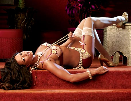 Candice Michelle achtergrond possibly with a bikini, a swimsuit, and an undergarment called Candice Michelle Photoshoot Flashback