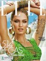 Candice covering the October 2012 issue of ELLE Brazil