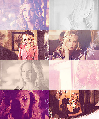 Caroline Forbes wallpaper possibly containing anime titled Caroline Forbes