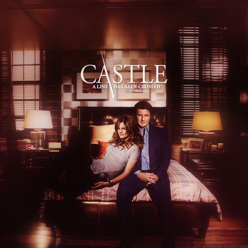замок & Beckett Обои with a living room, a family room, and a drawing room called Caskett