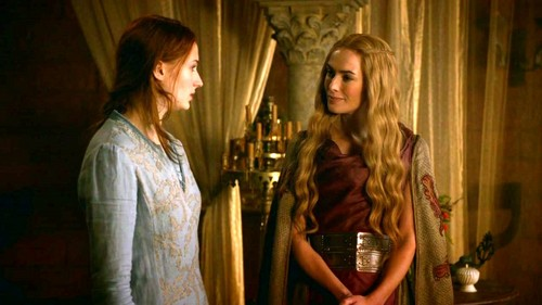 Cersei and Sansa - cersei-lannister Photo